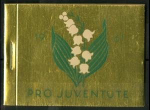 Schweiz, MH 0-48, MH Juventute 1961, Unterr., postfr., Mi. 50,-, SBK 90,-(50195)