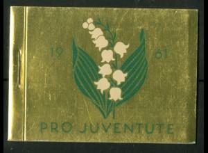 Schweiz, MH 0-48, MH Juventute 1961, Oberr., postfr., Mi. 50,-, SBK 90,- (50196)