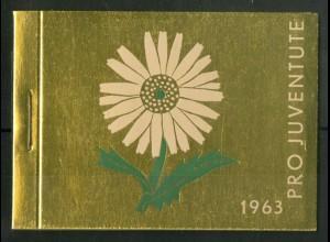 Schweiz, MH 0-52, MH Juventute 1963, Unterr., postfr., Mi. 55,-, SBK 45,- (50199)