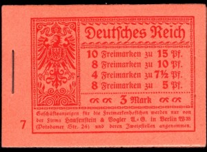 Dt. Reich, MH 10.2 A 2, Fotoattest, s. Beschreibung (90011)